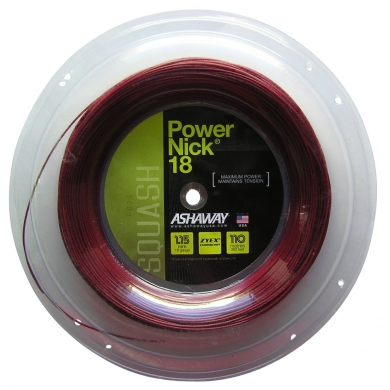 Ashaway Powernick 18 1.15 rot 110 Meter Rolle