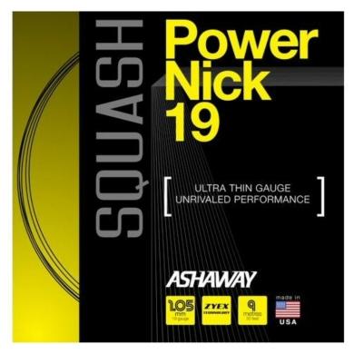 Besaitung mit Ashaway Powernick 19