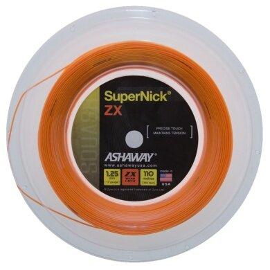 Ashaway Super Nick ZX orange 110 Meter Rolle