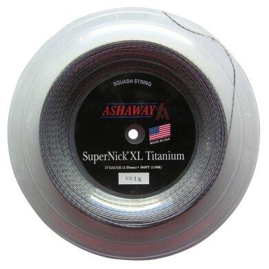 Ashaway Super Nick XL Titanium 1.25 grau 110 Meter Rolle