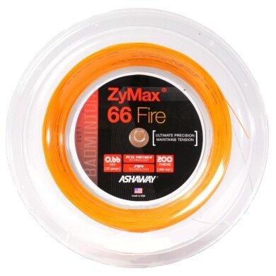 Ashaway Zymax 66 Fire Power orange 200 Meter Rolle