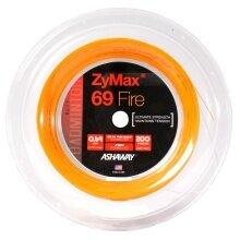 Ashaway Zymax 69 Fire orange 200 Meter Rolle