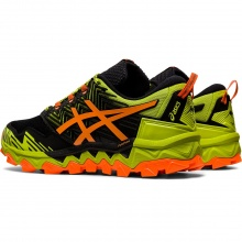 Asics Gel FujiTrabuco 8 lime/orange Trail-Laufschuhe Herren