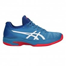 Asics Solution Speed FF Clay 2018 azureblau/weiss Tennisschuhe Herren