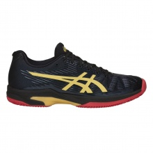 Asics Solution Speed FF Limited Edition Clay schwarz Tennisschuhe Herren