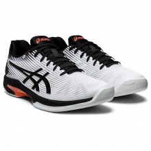 Asics Solution Speed FF Carpet weiss/schwarz Indoor-Tennisschuhe Herren
