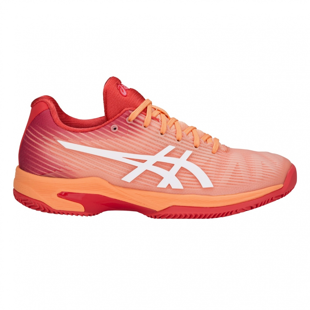 Asics Solution Speed FF Clay 2018 koralle Tennisschuhe Damen ...