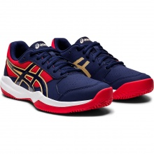 Asics Gel Game 7 Clay peacoat Tennisschuhe Kinder