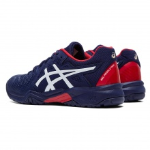 Asics Gel Resolution 8 Allcourt 2020 peacoat/rot Tennisschuhe Kinder