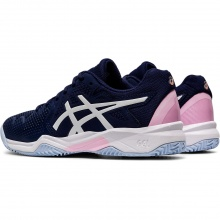 Asics Gel Resolution 8 Clay GS 2020 peacoat/pink Tennisschuhe Kinder