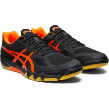 Asics Gel Blade 7 schwarz/orange Indoorschuhe Herren