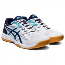 Asics Gel Upcourt 4 weiss/peacoat Indoorschuhe Herren