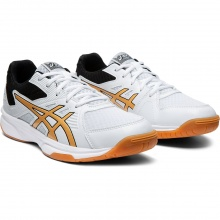 Asics Gel Upcourt 3 2020 weiss/gold Indoorschuhe Damen