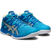 Asics Gel Task MT 2 (Mid-Cut) blau Hallen-Volleyballschuhe Damen