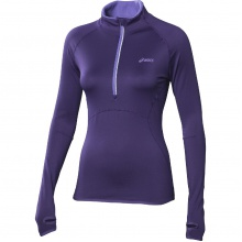 Asics Longsleeve Winter 1/2 Zip purple Damen (Größe S)
