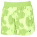 Asics Short FuzeX Printed 5,5 IN 2016 grün Damen