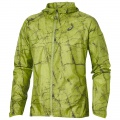 Asics Jacket Fujitrail Packable 2016 lime Herren (Größe M)