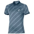 Asics Polo Club Graphic 2016 blau Herren