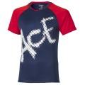 Asics Tshirt Ace 2016 blau Boys (Größe 140)