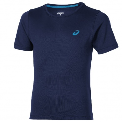 Asics Tshirt Short Sleeve 2016 blau Boys