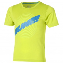 Asics Tshirt Run 2016 lime Boys