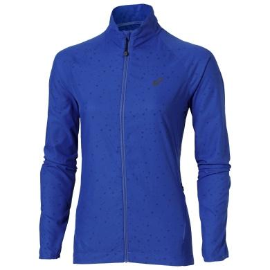 Asics Jacket Lite Show 2016 blau Damen