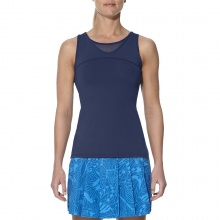 Asics Tank Athlete 2017 blau Damen
