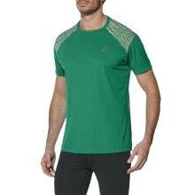Asics Tshirt FuzeX 2017 grün Herren