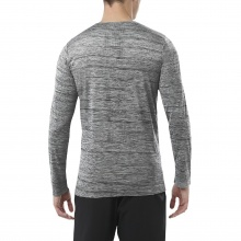 Asics Langarmshirt Training Brushed 2017 grau Herren