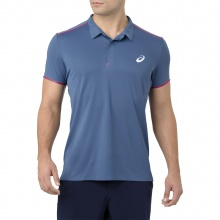 Asics Polo Tennis Performance Cool azure Herren