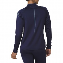 Asics Langarmshirt Icon Winter 1/2 Zip 2018 dunkelblau Damen