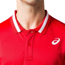 Asics Polo Tennis Club 2020 rot Herren
