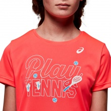 Asics Shirt Tennis GPX 2020 pink Girls
