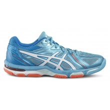 Asics Gel Volley Elite 3 blau Volleyballschuhe Damen