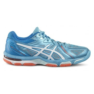 Asics Gel Volley Elite 3 2016 blau Volleyballschuhe Damen