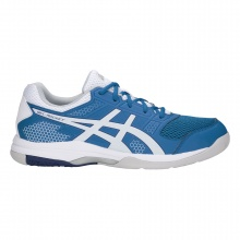 Asics Gel Rocket 8 2018 royal/weiss Indoorschuhe Herren
