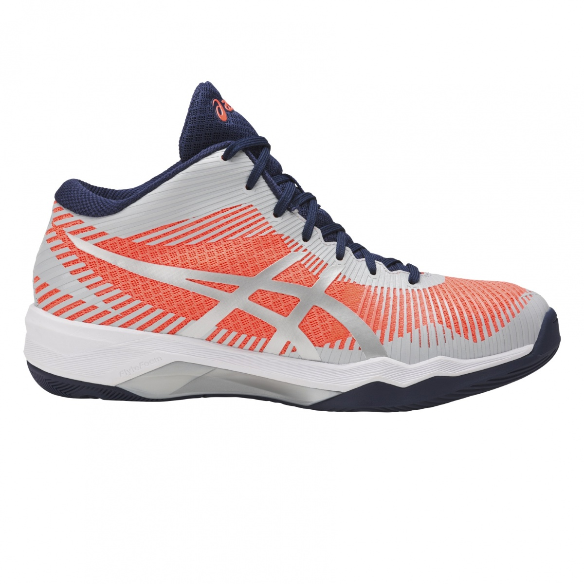 Asics Gel Volley Elite FF MT 2017 grau/pink Volleyballschuhe Damen ...