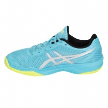 Asics Gel Volley Elite FF aqua Volleyballschuhe Damen