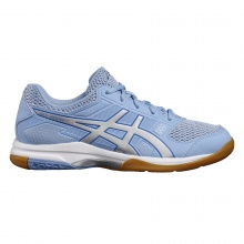 Asics Gel Rocket 8 2017 blau Indoorschuhe Damen