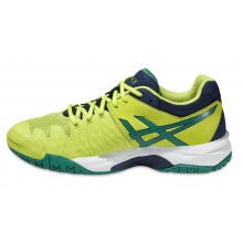 Asics Gel Resolution 6 2016 lime Tennisschuhe Kinder
