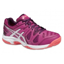 Asics Gel Game 5 2016 berry Tennisschuhe Girls