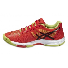 Asics Gel Solution Speed 3 orange Tennisschuhe Kinder