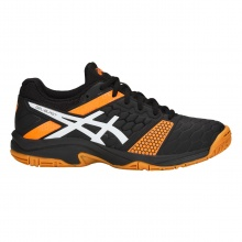 Asics Gel Blast 7 schwarz/orange Indoorschuhe Kinder