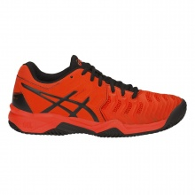 Asics Gel Resolution 7 Clay 2019 rot/schwarz Tennisschuhe Kinder