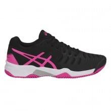 Asics Gel Resolution 7 Clay 2018 schwarz/pink Tennisschuhe Kinder