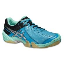 Asics Gel Domain 3 blau Handballschuhe Damen