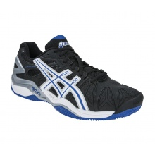 Asics Gel Resolution 5 Clay schwarz/blau Tennisschuhe Herren