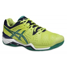 Asics Gel Resolution 6 Clay lime Tennisschuhe Herren