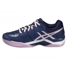 Asics Gel Challenger 10 Clay navy/purple Tennisschuhe Damen
