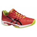 Asics Gel Solution Speed 3 Clay 2016 orange Tennisschuhe Herren